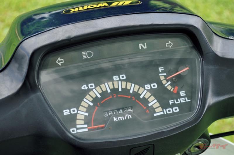 カブ100EX スーパーカブ100 メーター