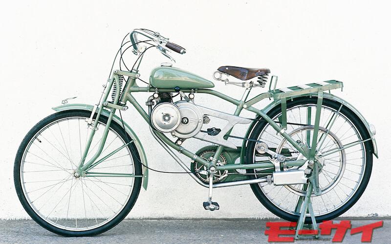 1947年ホンダA型(2スト50cc単気筒)
