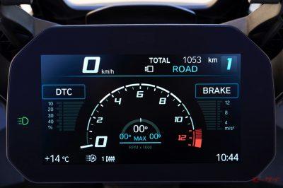 S1000XR メーター