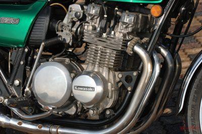 Z650 ザッパー エンジン