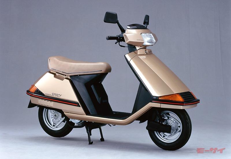 1982年発売のホンダ・スペイシー・カスタムタイプ。