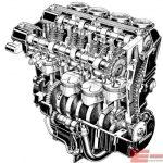 GPZ900R エンジン