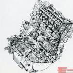 GSX-R750 エンジン