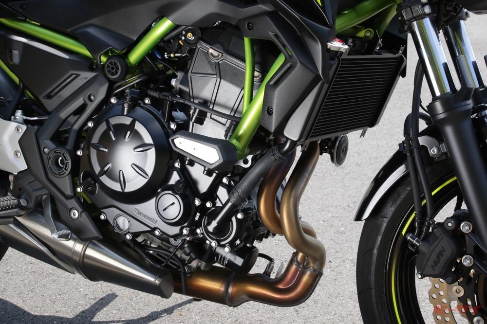 Z650 エンジン
