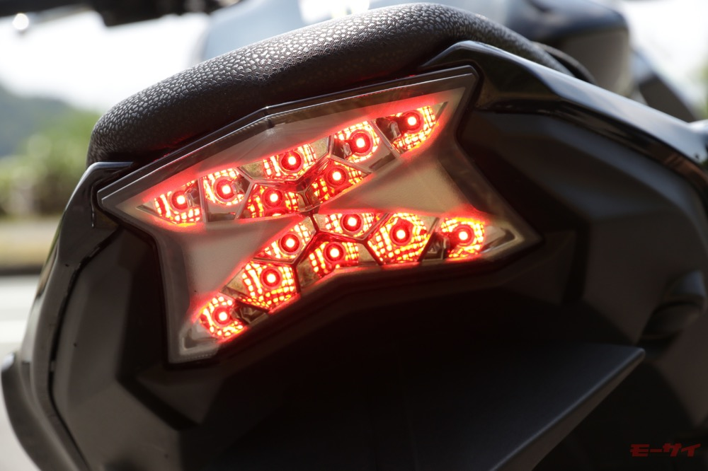 Z650 テールランプ