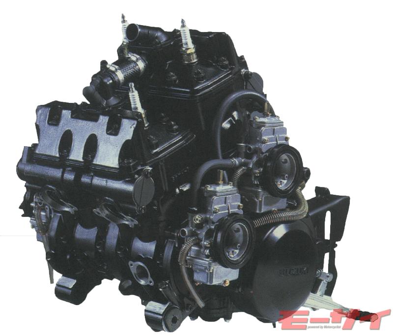 RG500Γ エンジン