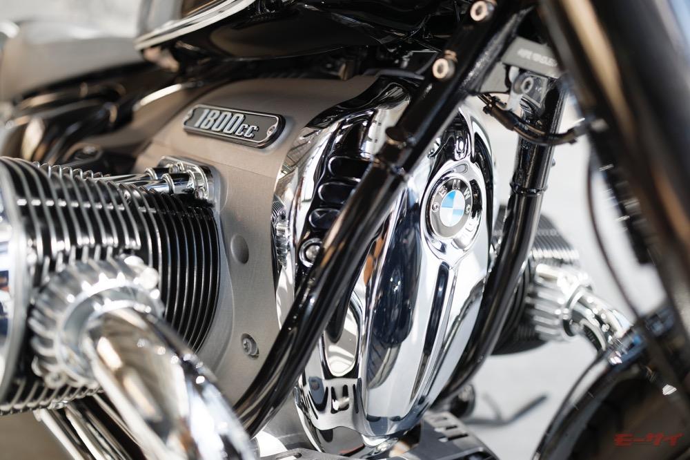 BMW R18 エンジン