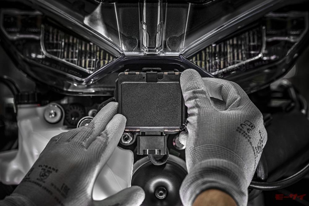ドゥカティ ムルティストラーダV4 レーダー