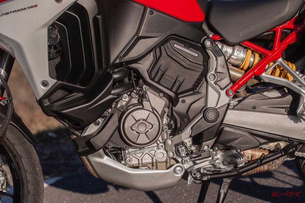 ドゥカティ ムルティストラーダV4 エンジン