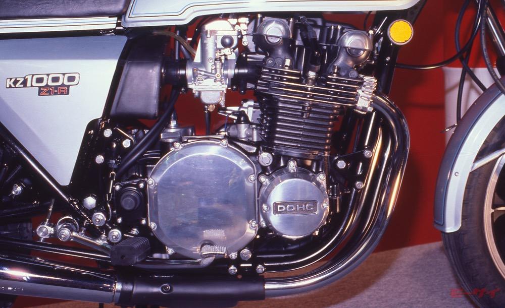 Z1-R カワサキ エンジン