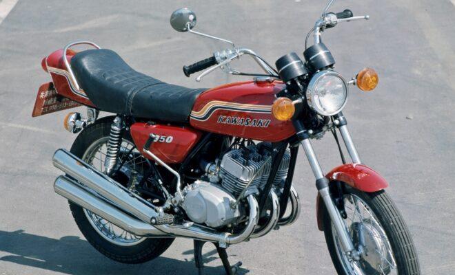 350SS カワサキ マッハ