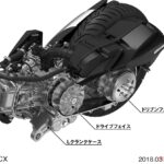 PCX150 エンジン