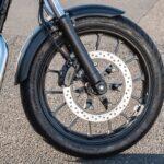 GB350 フロントタイヤ ブレーキ