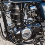 GB350 エンジン