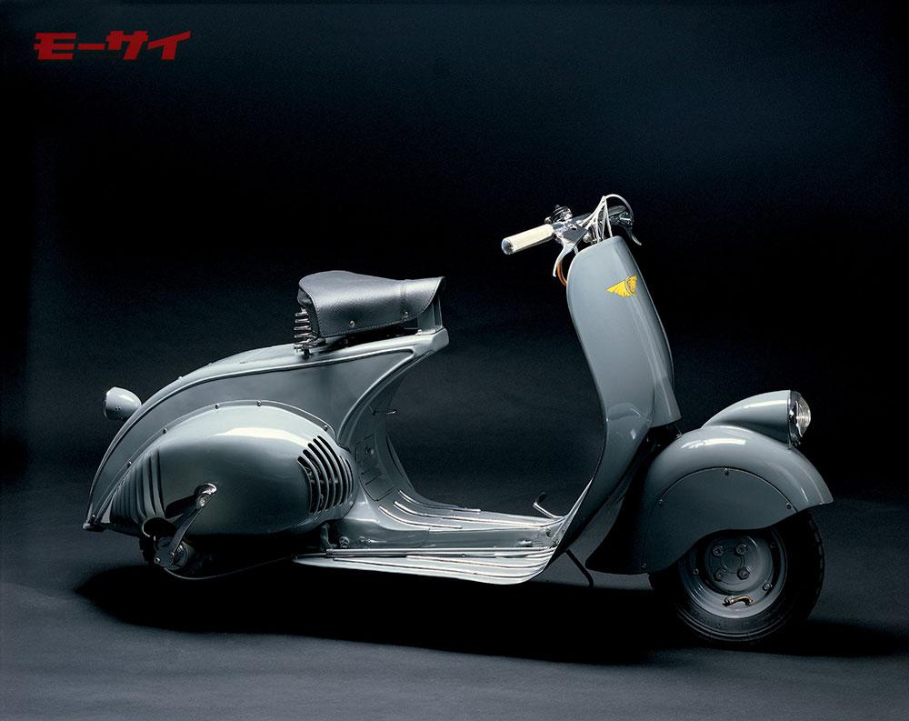 1946年に製造されたベスパのプロトタイプモデル「MP6」