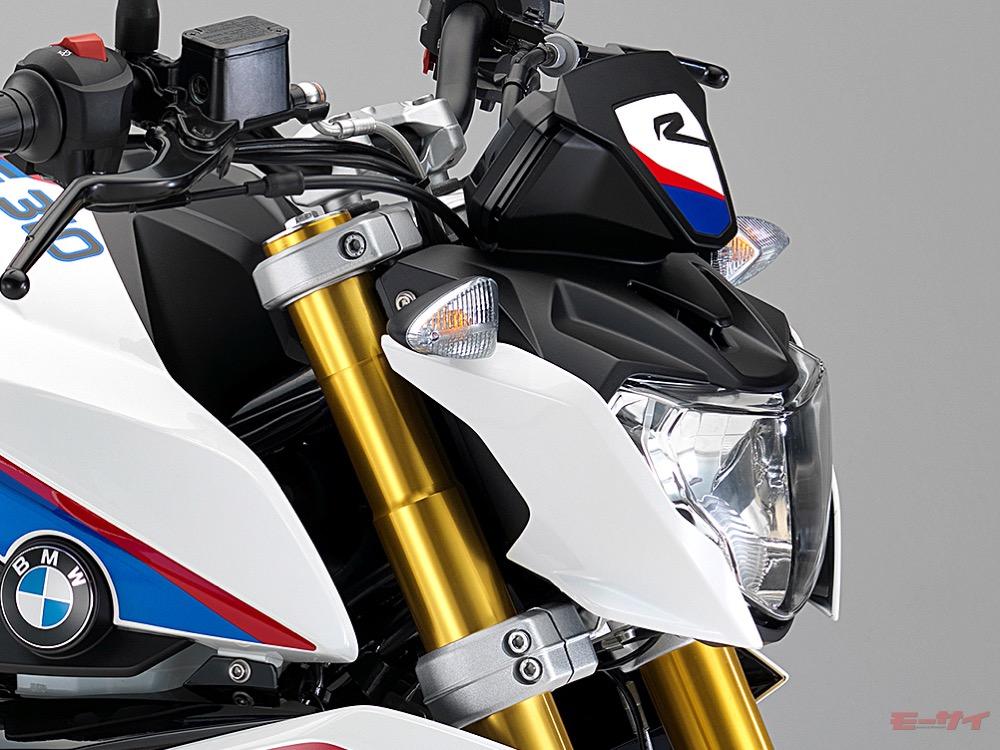 BMW G310R ヘッドライト
