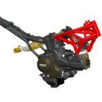 モンスター1200 ドゥカティ フレーム エンジン